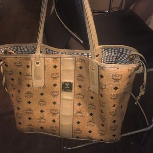 100% authentic MCM bag